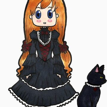Gothic Lolita - No Text by riannajaye