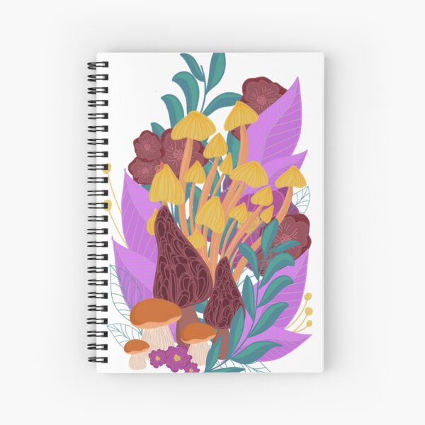 Colorful Mush Spiral Notebook