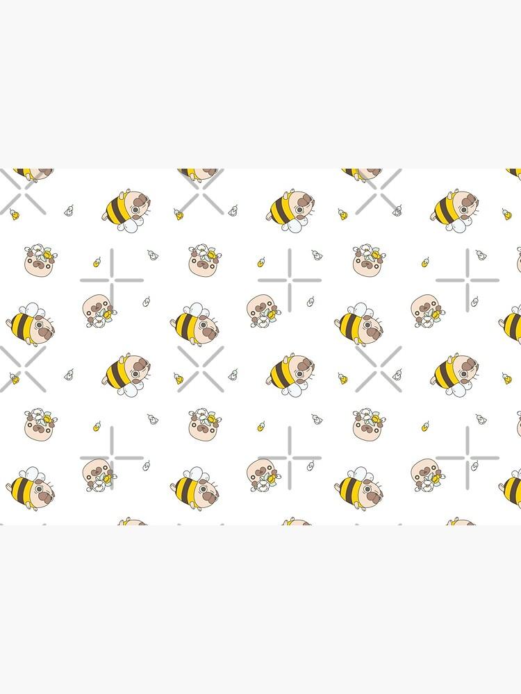 Pug Bee by Miri-Noristudio