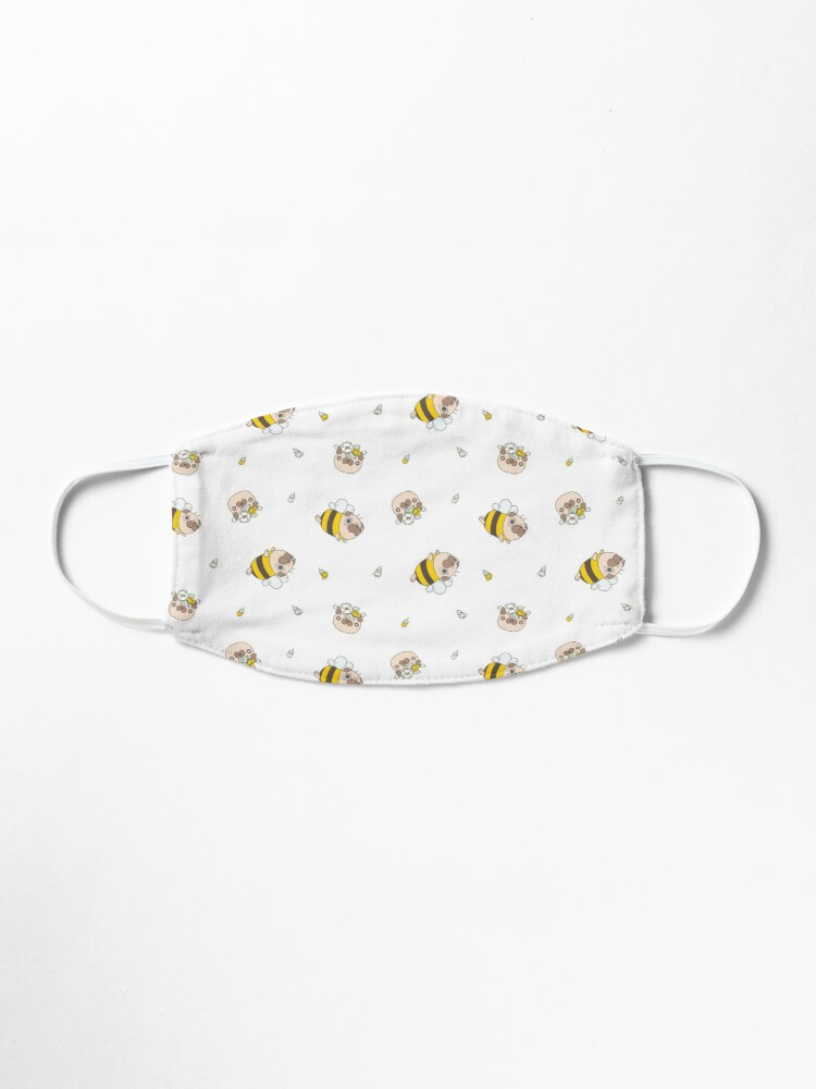 Alternate view of Pug Bee Mask