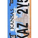 Supernatural Numberplate - iPhone by keirrajs