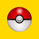 Pokeball Yellow - iPhone by keirrajs