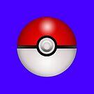 Pokeball Blue - iPhone by keirrajs
