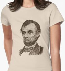 Abraham Lincoln Womens Fitted T-Shirt