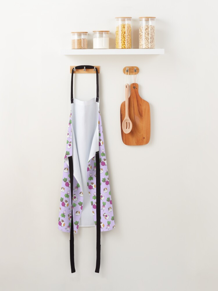 Alternate view of Guinea Pig Pattern Apron