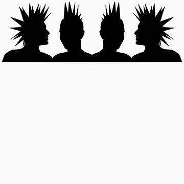 Punk Heads by bkxxl