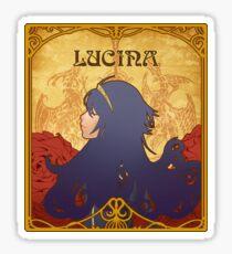Art Nouveau Lucina Sticker