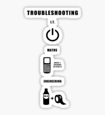 Troubleshooting Sticker