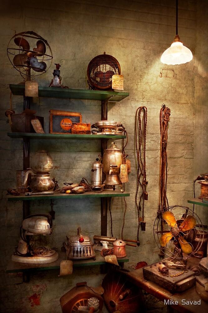 Repair - In the corner of a repair shop by Michael Savad