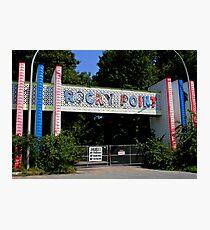 Rocky Point Amusement Park Photographic Print