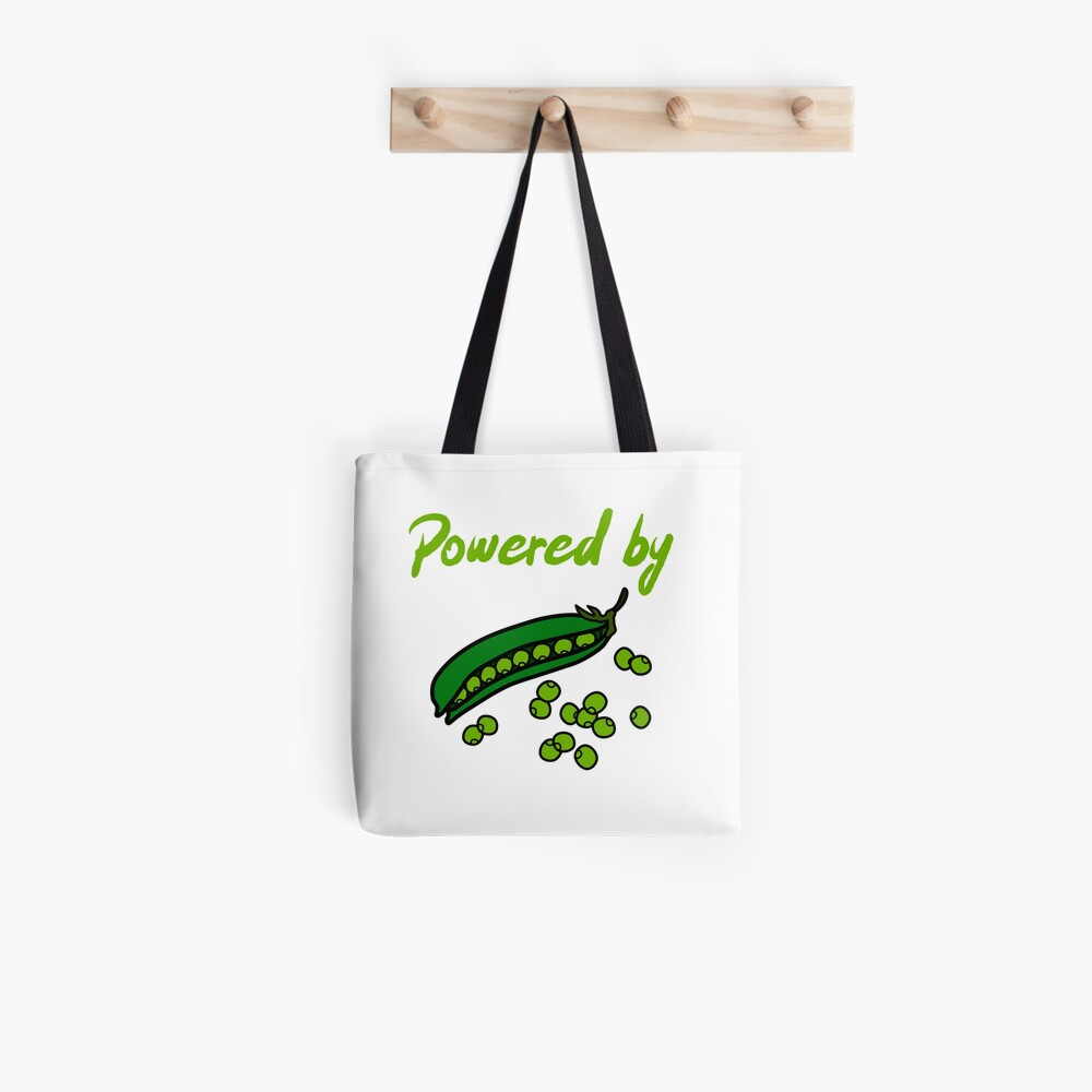Powered by Peas Tote Bag