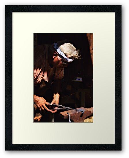 The Blacksmith by Bob Wall