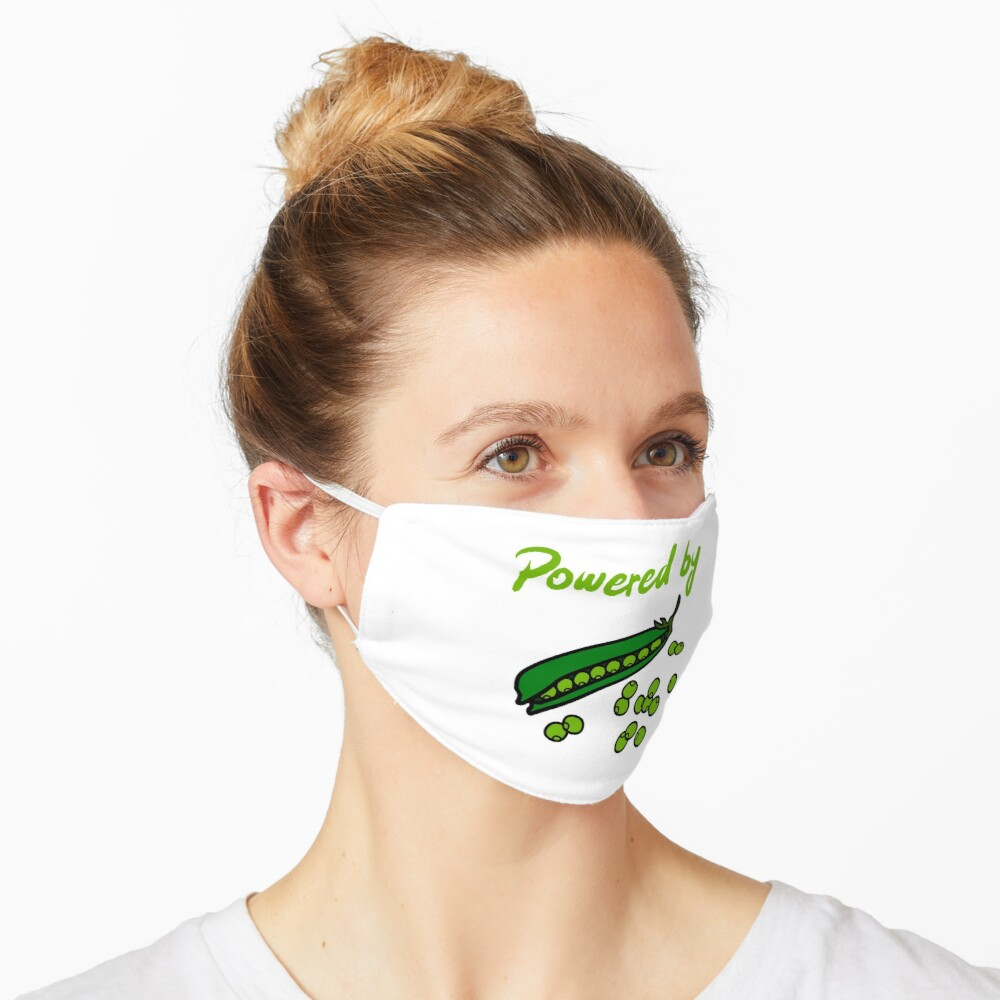 Powered by Peas Mask