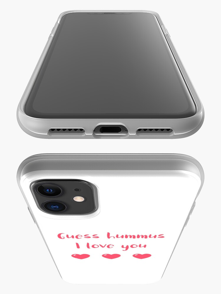 Alternate view of Guess Hummus I Love You iPhone Case