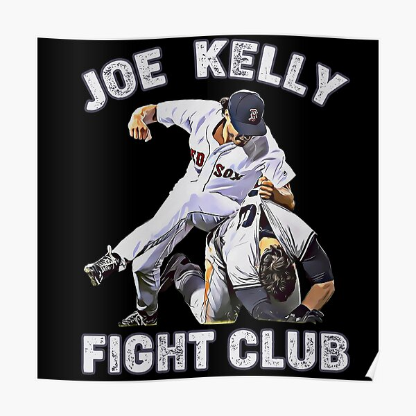 joe kelly fight club baseball Poster