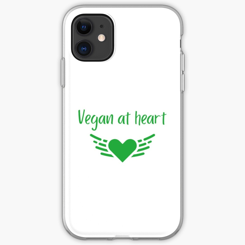Vegan at Heart iPhone Case & Cover