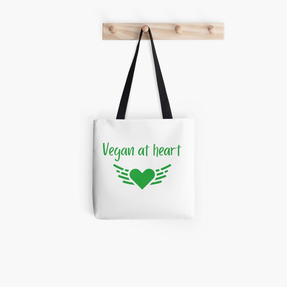 Vegan at Heart Tote Bag