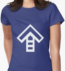 In the Groove: Arrow Shirt Women's Fitted T-Shirt