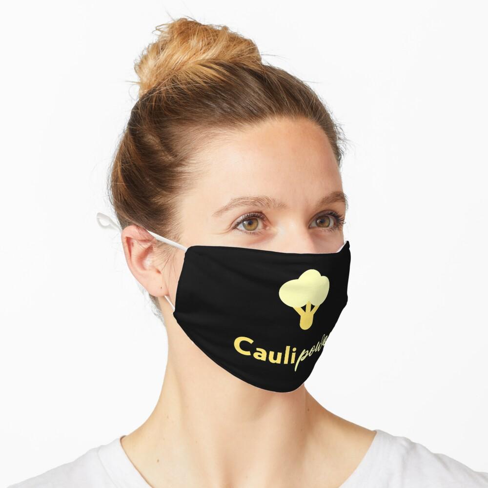 Caulipower Cauliflower Power Vegetables Plant Based Food Lovers Mask