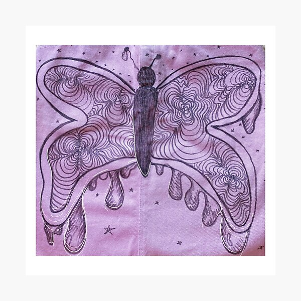 gooey butterfly  Photographic Print