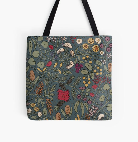 Impossible Flowers All Over Print Tote Bag
