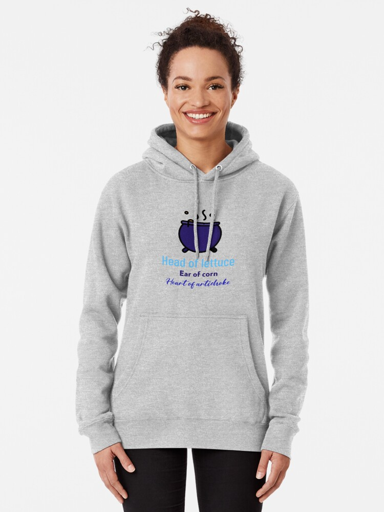 Alternate view of Vegan Witches Brew with Vegetables Pullover Hoodie