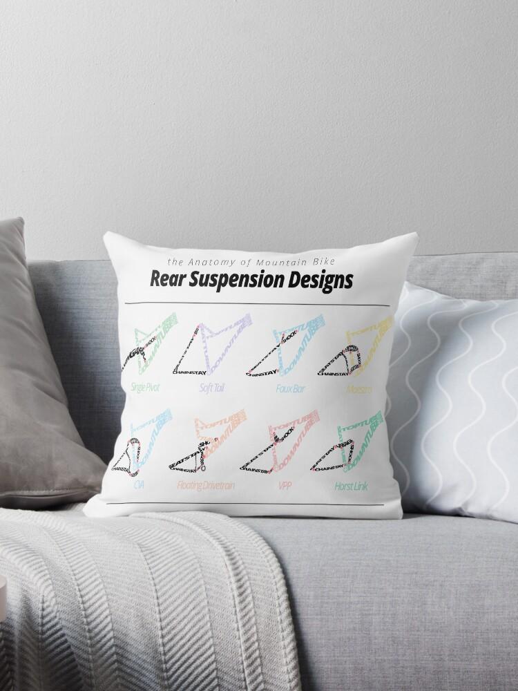 Cojines «la anatomía de los diseños de suspensión trasera de ...