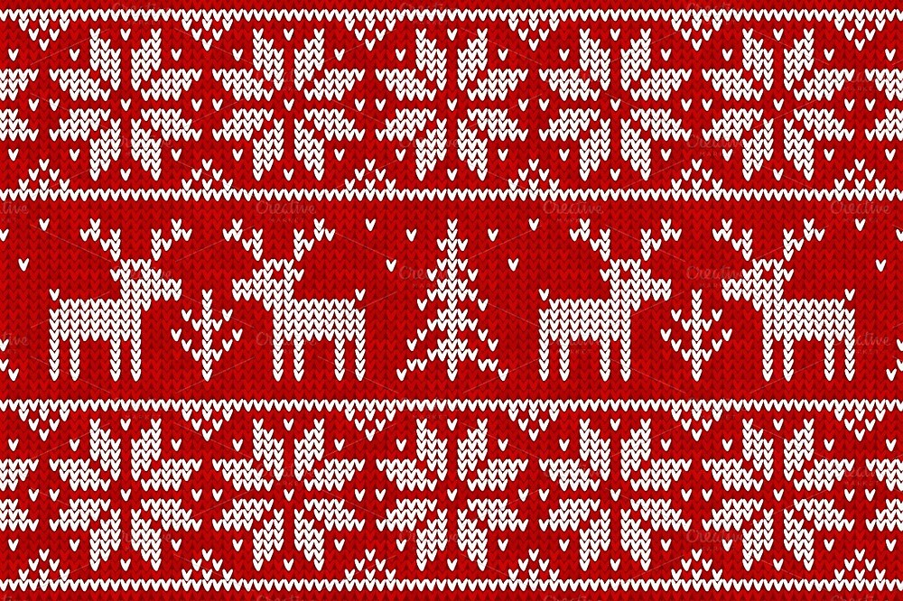 Ugly Christmas Sweaters Patterns.Ugly Christmas Sweater Pattern By Ipsy Redbubble