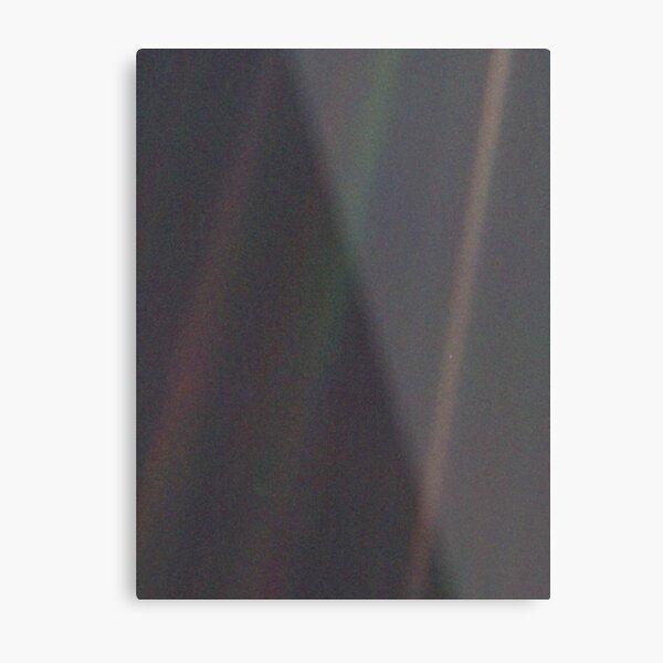Pale Blue Dot (Original) Metal Print