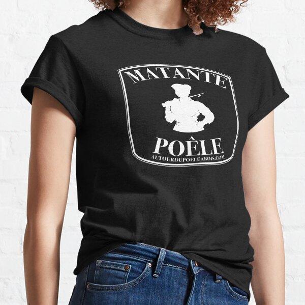 Matante Poêle (blanc) T-shirt classique