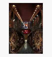 Steampunk - Dystopian society Photographic Print