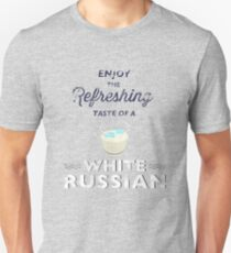 Enjoy the Refreshing Taste of a White Russian T-Shirt