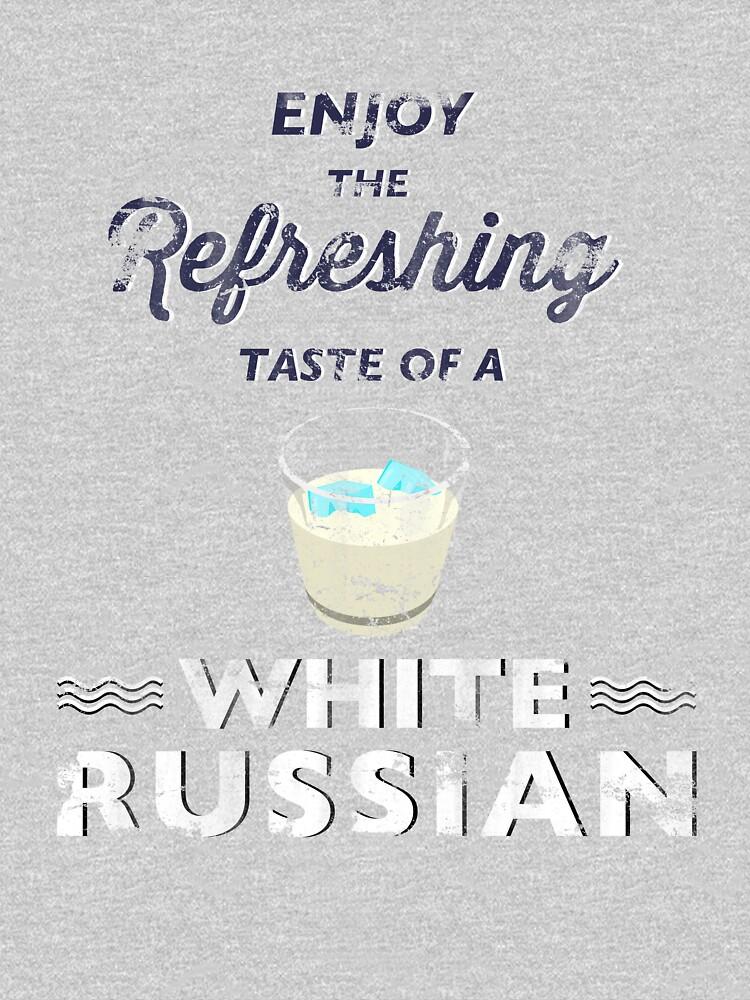 Enjoy the Refreshing Taste of a White Russian | Unisex T-Shirt