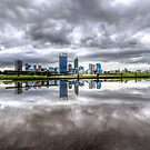 Perth in a Puddle by Ladyshark