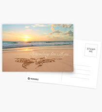Remembering Him With You Postcards