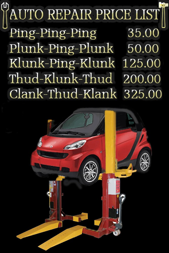 ☝ ☞ $ AUTO REPAIR PRICE LIST PICTURE/CARD $☝ ☞ by ✿✿ Bonita ✿✿ ђєℓℓσ