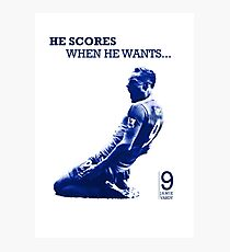 He Scores When He Wants - Jamie Vardy Photographic Print