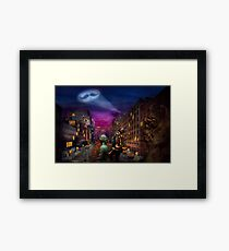 Steampunk - The Great Mustachio Framed Print