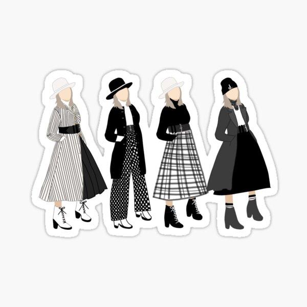 Diane Keaton fashion Sticker