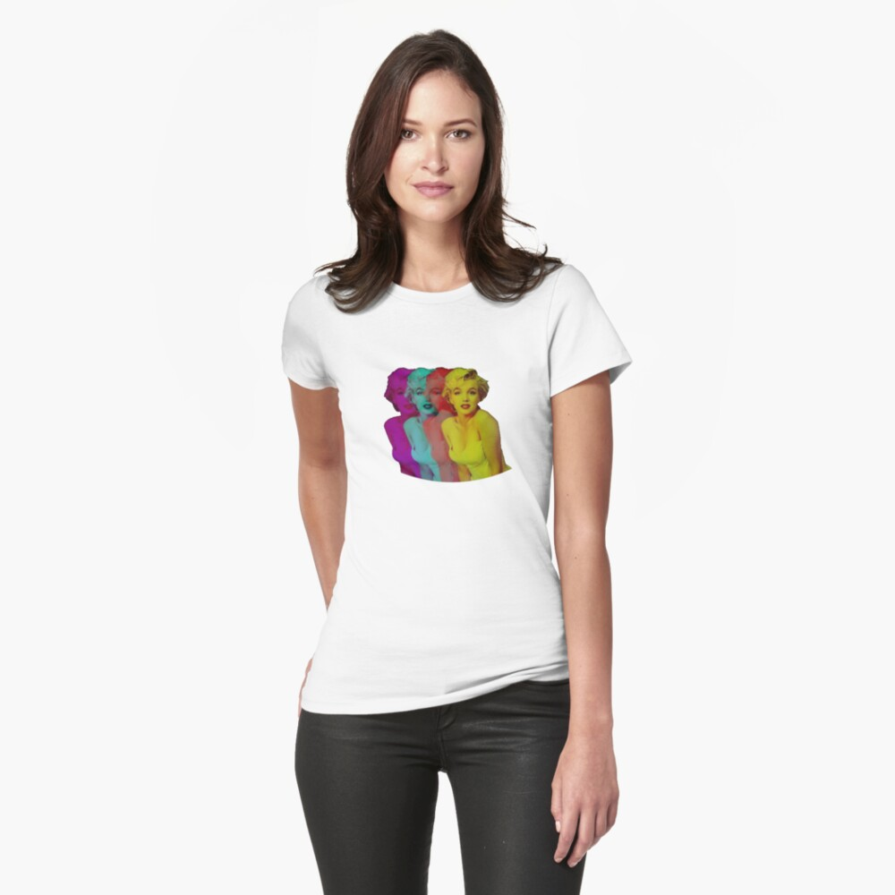 Marilyn Monroe Fitted T-Shirt