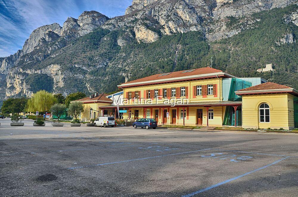Old train station in Riva del Garda by Martina Fagan