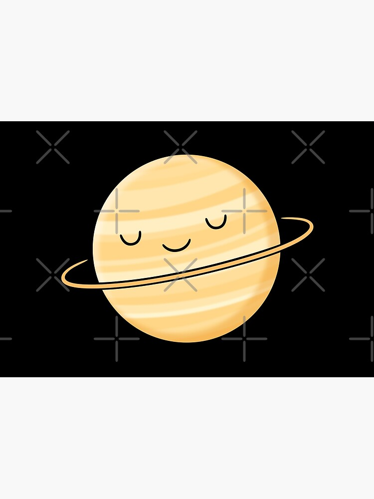 Happy Planet Saturn by kimvervuurt