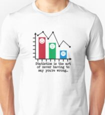 You're Never Wrong, Statistics Humor Unisex T-Shirt