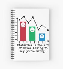 You're Never Wrong, Statistics Humor Spiral Notebook