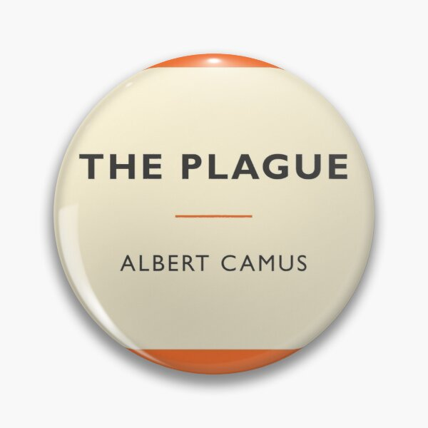 The Plague by Camus (vintage penguin book cover) Pin