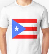 Flag of Puerto Rico Unisex T-Shirt