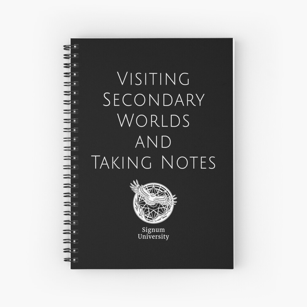 Visiting Worlds Spiral Notebook