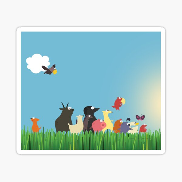 What's happening on the farm? Kids collection Sticker