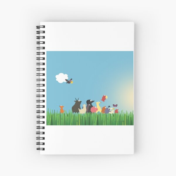 What's happening on the farm? Kids collection Spiral Notebook