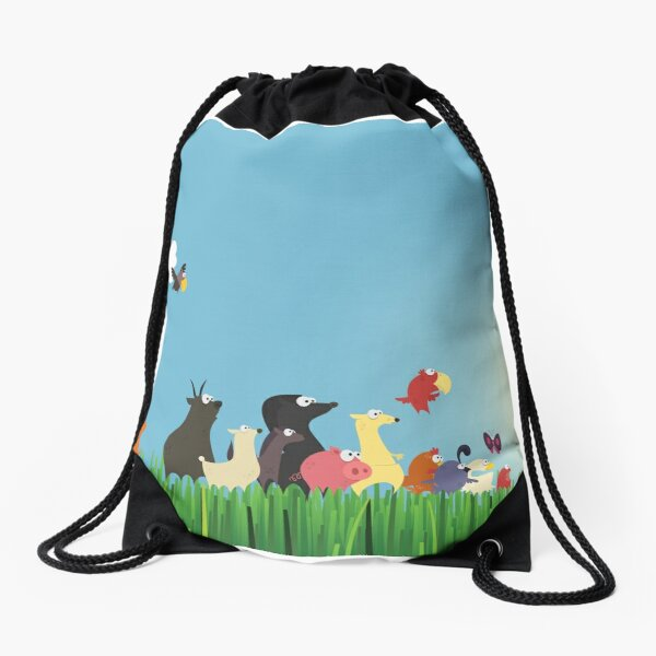 What's happening on the farm? Kids collection Drawstring Bag